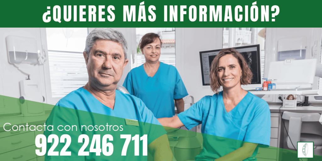 Banner más información Clínica Dental Dr. Tomas Molina en Tenerife